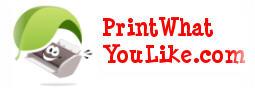 Imprimez ce que vous voulez avec PrintWhatYouLike.com