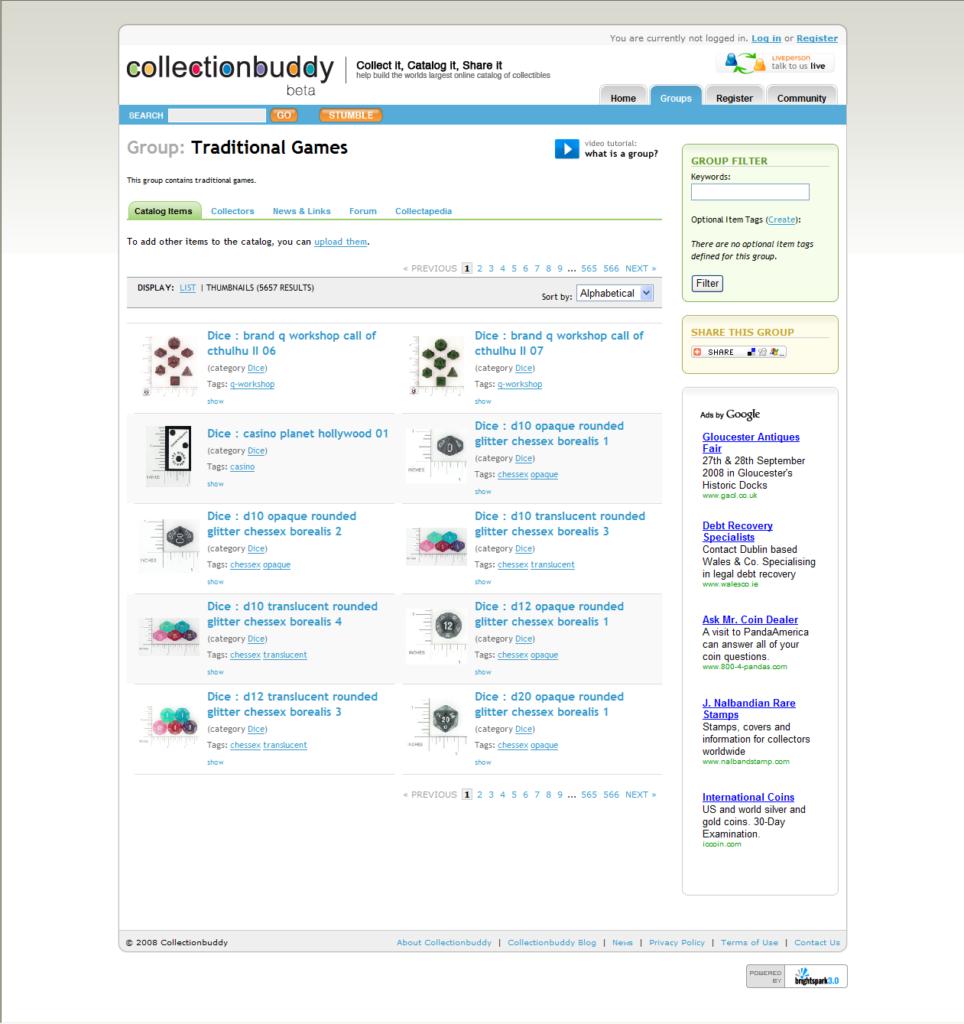 Collectionbuddy, un espace pour les collectionneurs