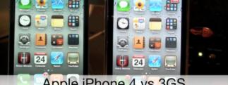 Comparaison du Retina de l'iPhone 4 et de l'écran du 3GS