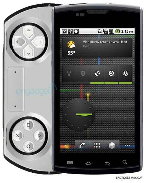 un psp phone sous android chez sony ericsson en octobre