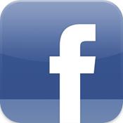 Logo de l'application Facebook pour iPhone sur iTunes