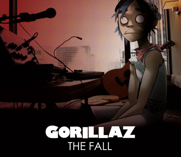The Fall, le nouvel album de Gorillaz en libre écoute sur le net