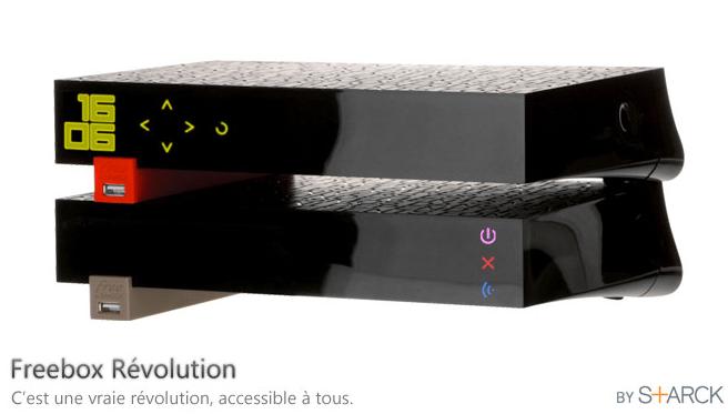 """Freebox V6 """"Revolution"""""""