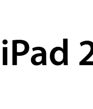 Logo iPad 2 maison