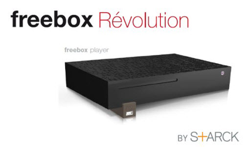 La Freebox Révolution de Starck
