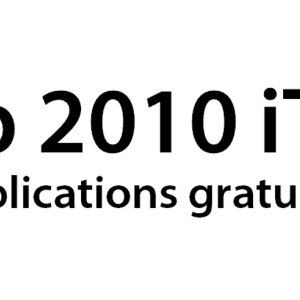 Rewind2010 - Top 10 des applications gratuites pour iPhone sur iTunes