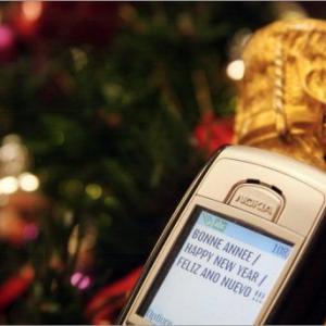 Record de SMS envoyés pour le Nouvel An battu