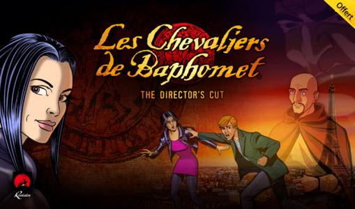 12 jours cadeaux iTunes – Jour 8 : Le jeu « Les Chevaliers de Baphomet – The Director's Cut »