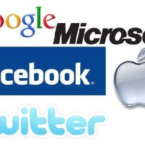 Twitter et ses prétendants Google, Microsoft, Facebook et Apple