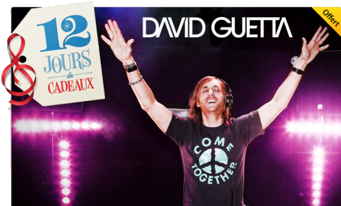 12 jours cadeeaux iTunes - Jour 12 : One Love de David Guetta