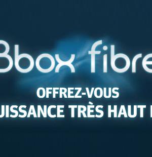 Bbox fibre Bouygues Telecom