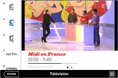 SFR NeufboxT TV - Télévision