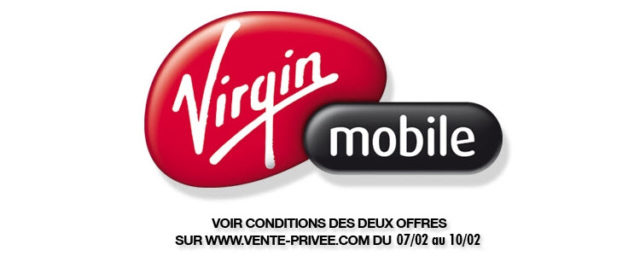 Promotion Virgin Mobile sur vente-privee.com