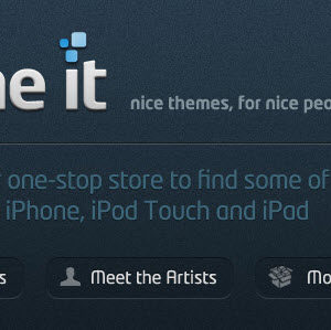 Theme It, un theme store pour iDevice