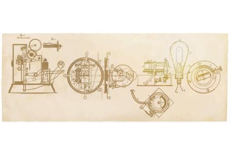 Google célèbre le 164è anniversaire de la naissance de Thomas Edison