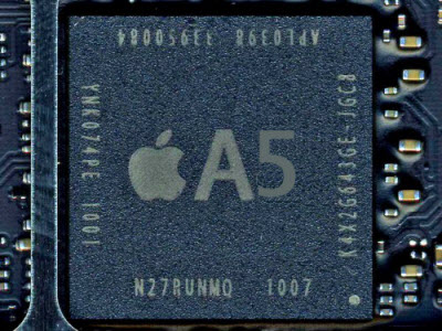 L'iPhone 5 sera doté du CPU Dual Core A5 comme l'iPad 2