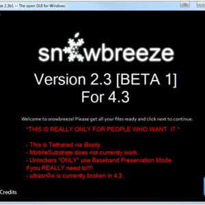 Sn0wbreeze 2.3 beta 1