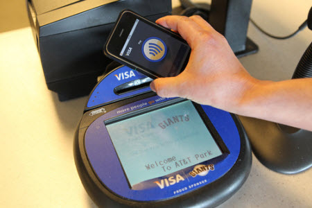 NFC ou système prioritaire Apple?