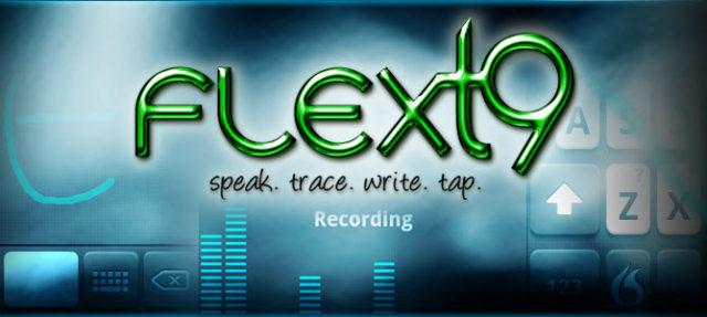 Application FlexT9 de Nuance sur Android