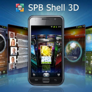 SPB Shell 3D, une interface 3D pour Android