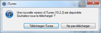 iTunes 10.2.2 est disponible