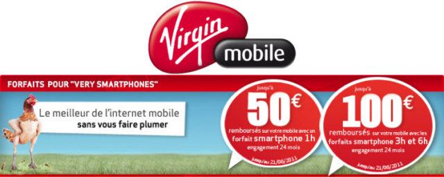 Virgin Mobile propose les nouveaux forfaits