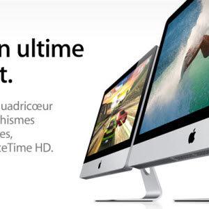 Apple met à jour la gamme iMac