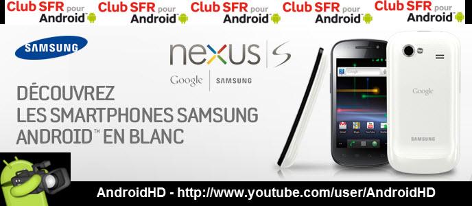Gagnez 1 Nexus S