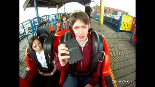 Galaxy S II se paye un tour de Grand Huit