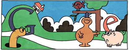 Doodle Roger Hargreaves n°09