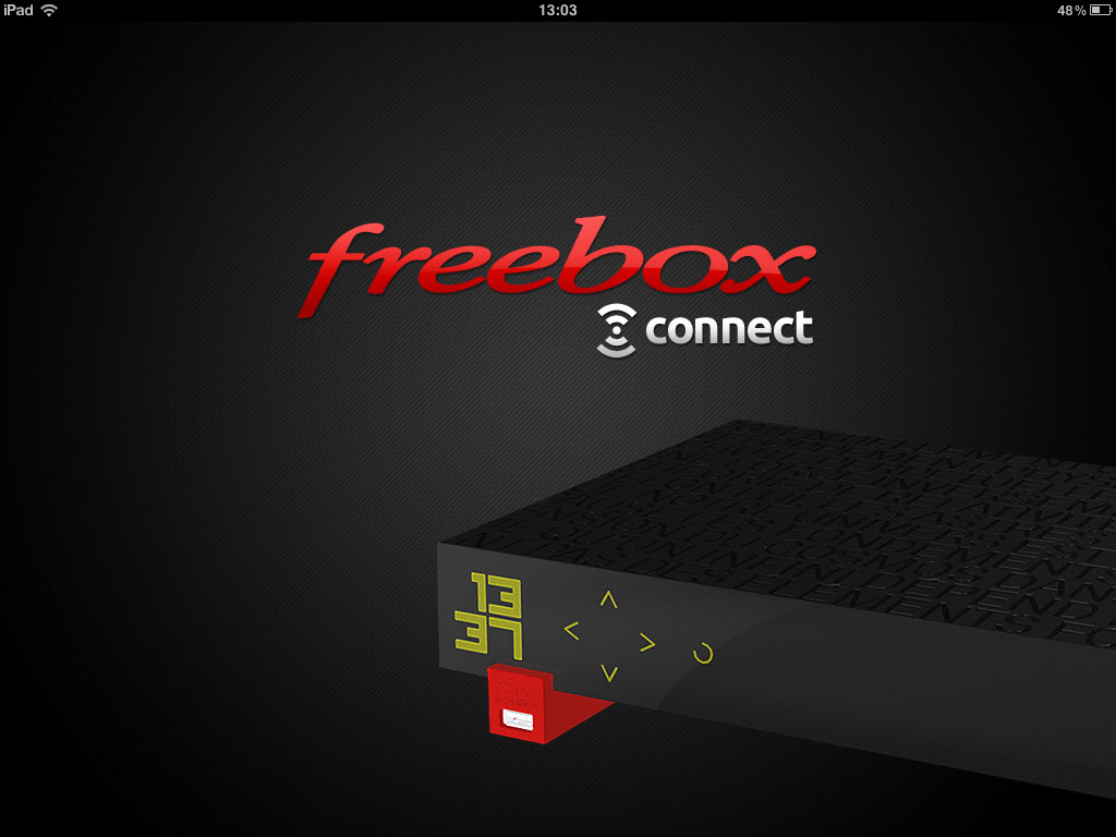 Freebox Connect - Ouverture