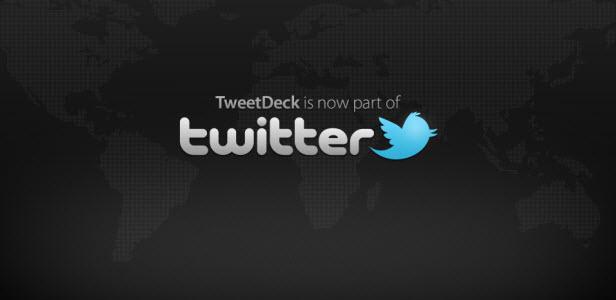 Twitter rachète TweetDeck pour 40 millions de dollars