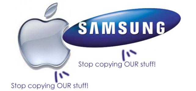 Samsung et Apple s'accusent mutuellement de plagiat