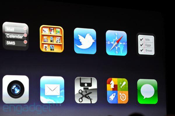 iOS 5, principales nouveautés
