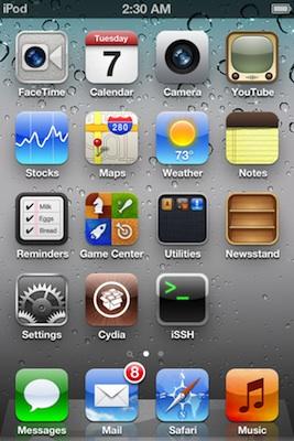 Jailbreak de l'iOS 5