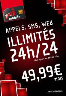 """Affiche NRJ Mobile """"Ultimate illimité"""""""