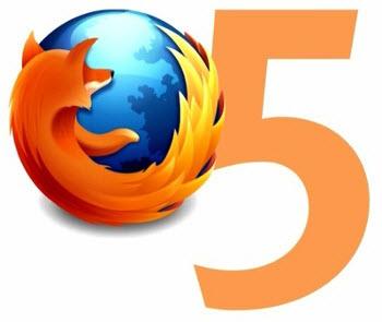 Firefox 5 est disponible
