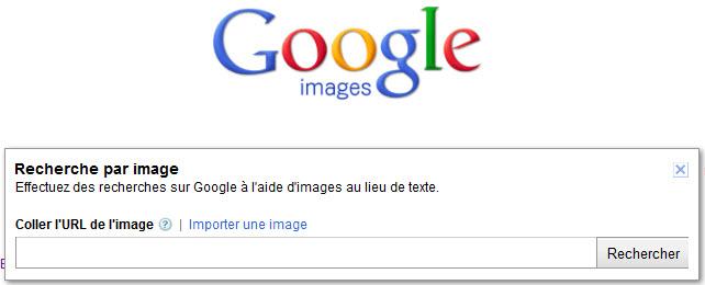 Copiez et collez l'URL d'une image