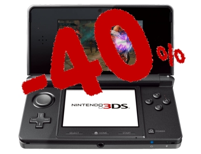 Nintendo baisse le prix de la 3DS