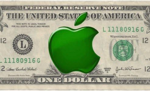 La trésorie d'Apple est plus importante que celle du Gouvernement US
