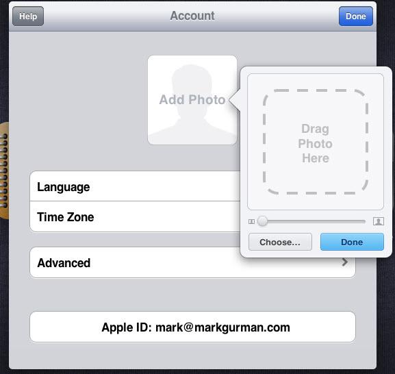 iCloud - Gestion du compte