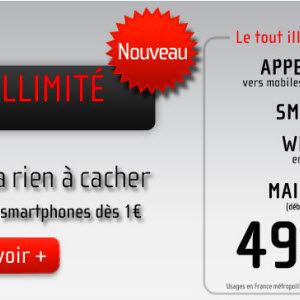 NRJ Mobile - Forfait Ultimate illimité