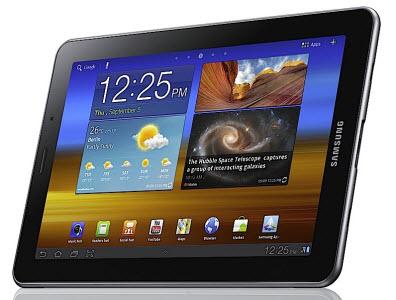 Samsung présente la Galaxy Tab 7.7