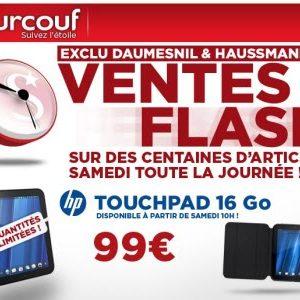 TouchPad à 99€ chez Surcouf