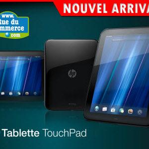 TouchPad : 370 tablettes en vente le 15 septembre sur RueDuCommerce