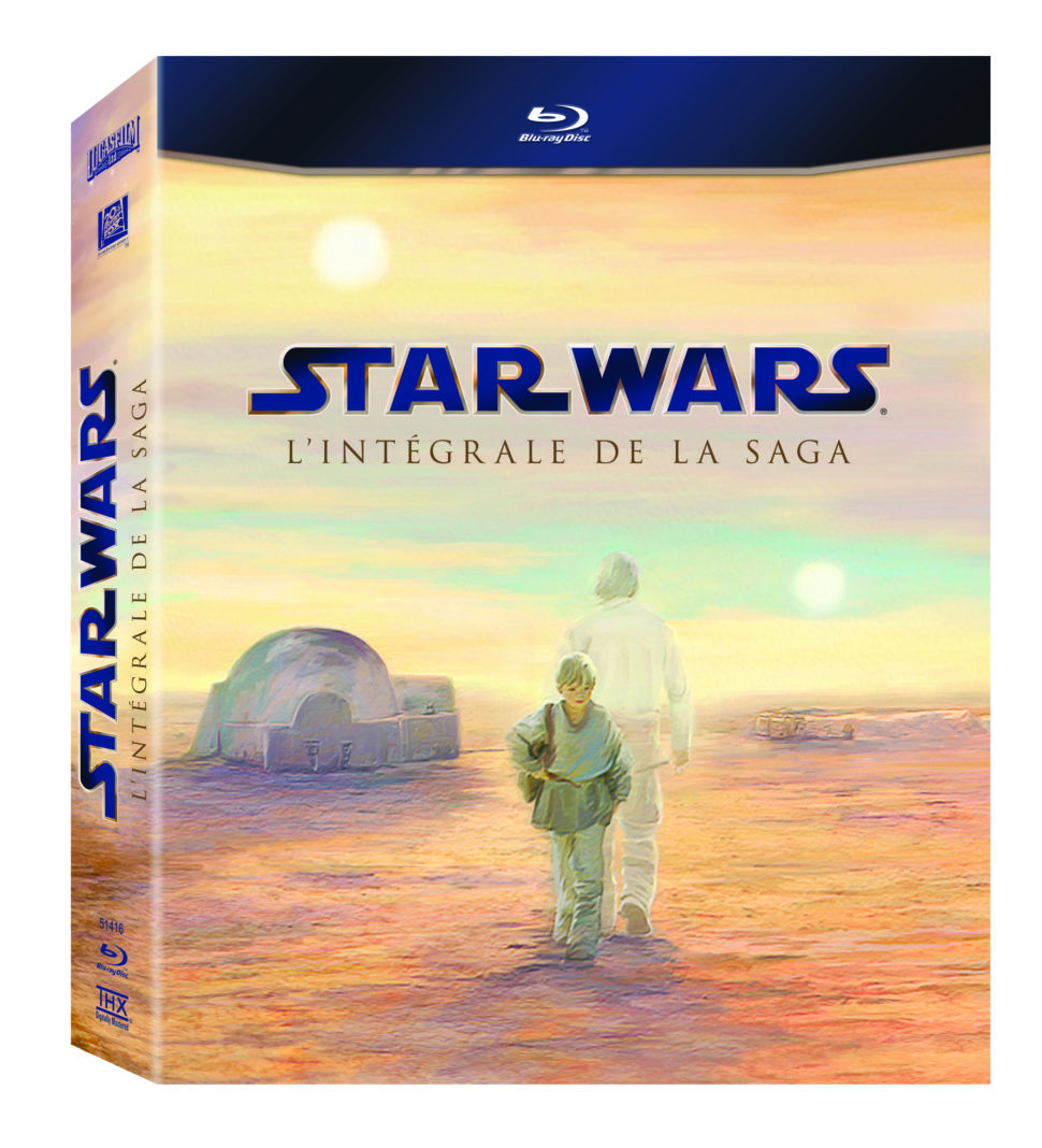 Coffret saga Star Wars