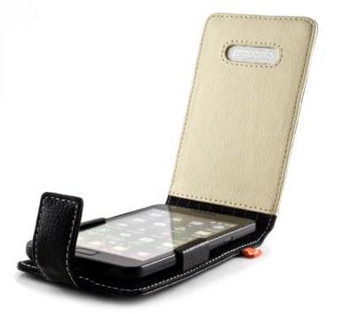 Proporta - Etui en Aluminium et Cuir pour Samsung Galaxy S II