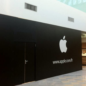 Ouverture de l'Apple Store de Parly2 le 24 septembre