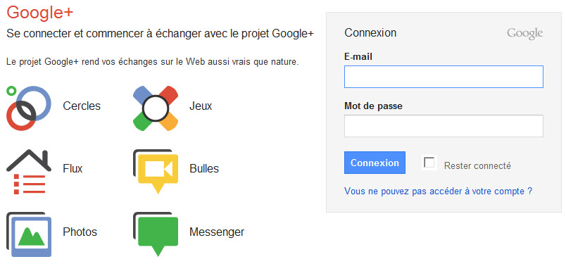 Google+ est ouvert à tous et pour de bon!