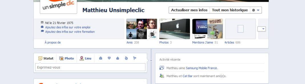 Conférence f8 : Le nouveau profil Facebook